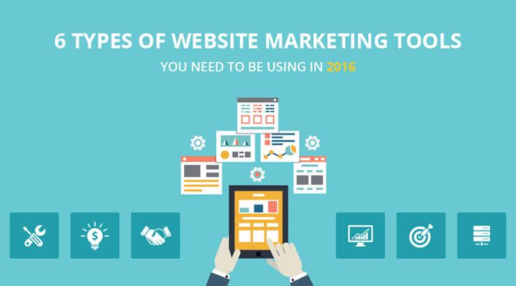 Types Of Website Marketing Tools
