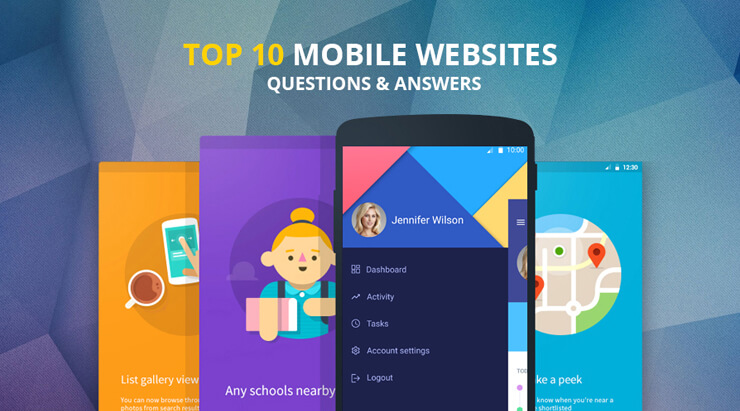 Mobile Websites Questions