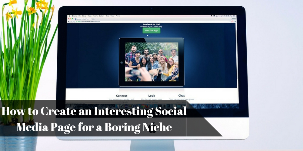 Create Social Media Page