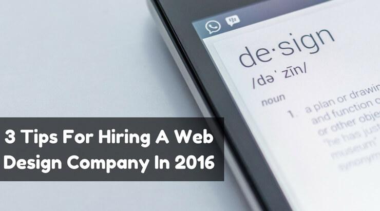 Web Design Company Banner
